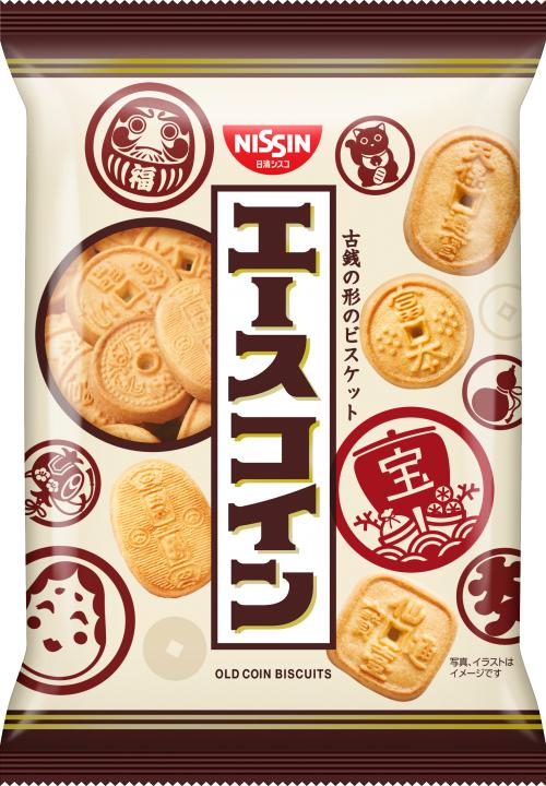 Nissin Cisco Ace Coin Cookie