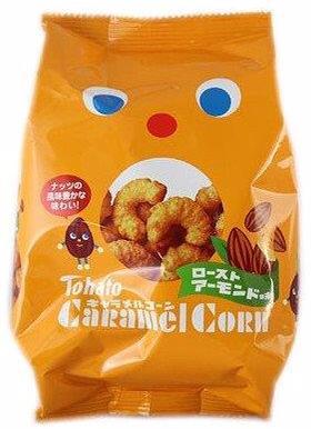 Tohato Caramel Corn Almond