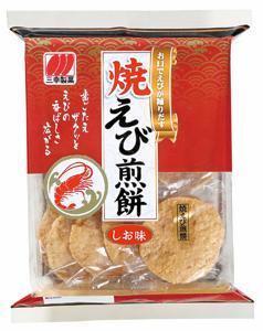 Sanko Yaki Ebi Senbei Cracker 12P