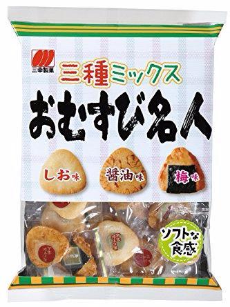 Sanko Omusubi Meijin Snack