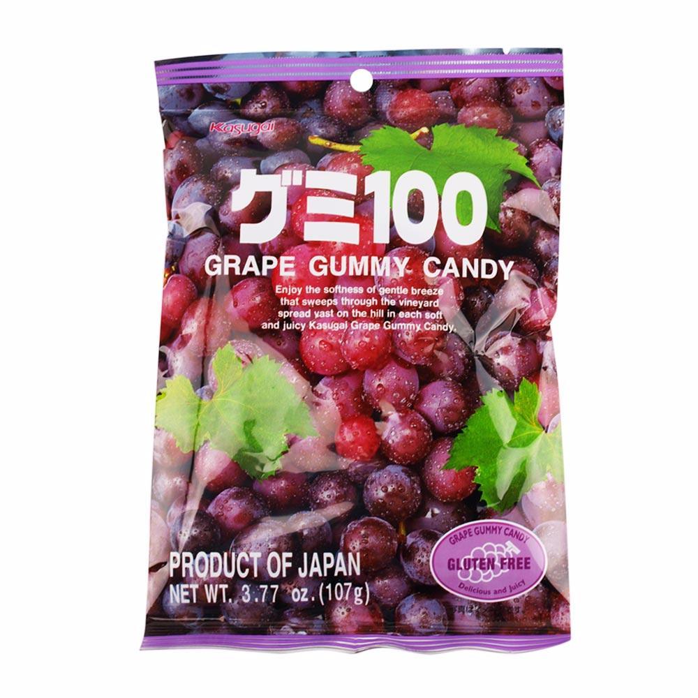 Kasugai Purple Grape Gummy Candy
