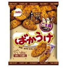 Kuriyama Bakauke Sesame Cracker 16P