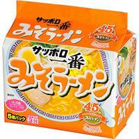 Sanyo Sapporo Ichiban Miso Ramen 5 Packets