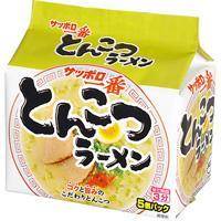 Sanyo Sapporo Ichiban Tonkotsu Ramen 5 Packets