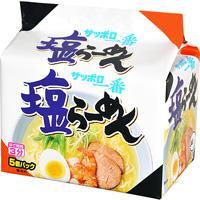 Sanyo Sapporo Ichiban Shio Ramen 5 Packets
