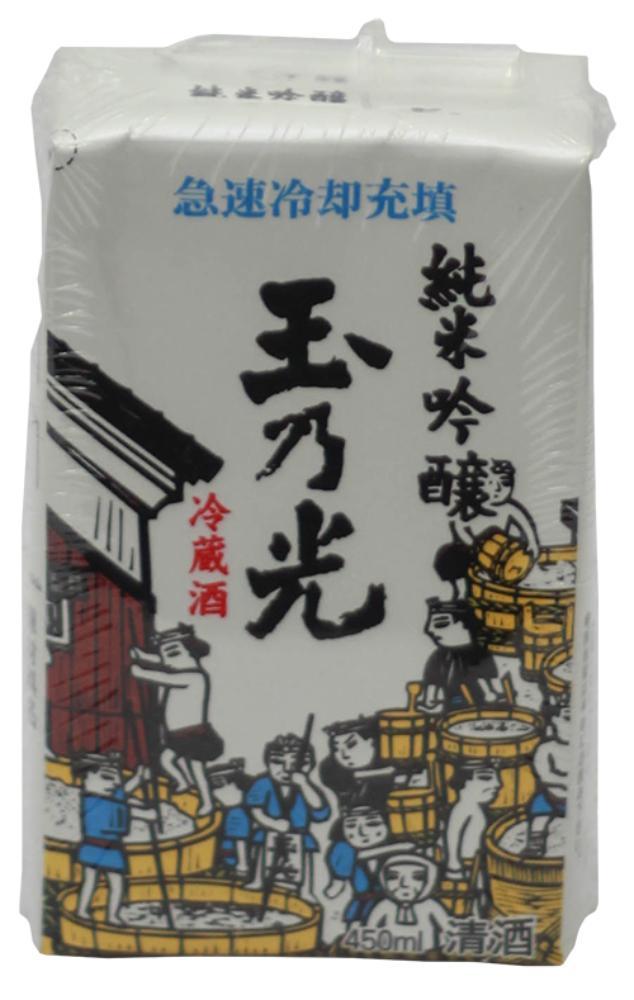 Tamano Hikari Reizo Shu Paper Pack Junmai Ginjyo Sake