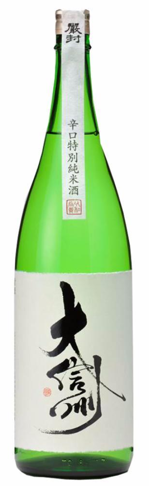 Daishinshu Karakuchi Tokubetsu Junmai Sake