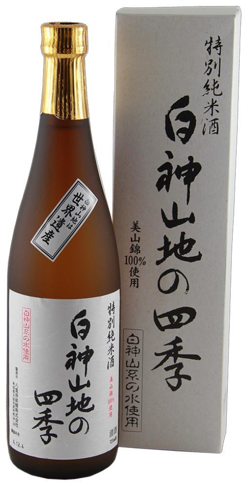 Shirakami Sanchi No Shiki Tokubetsu Junmai Sake