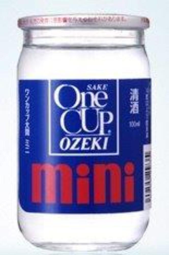 Ozeki One Cup Mini Sake