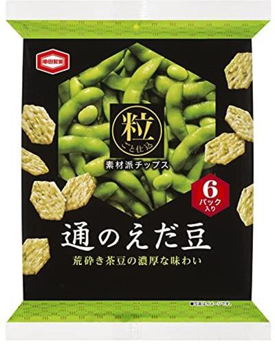 Kameda Grilled Edamame Snack 6P