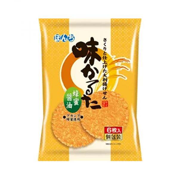 Bonchi Aji Honey Karuta Cracker 6P