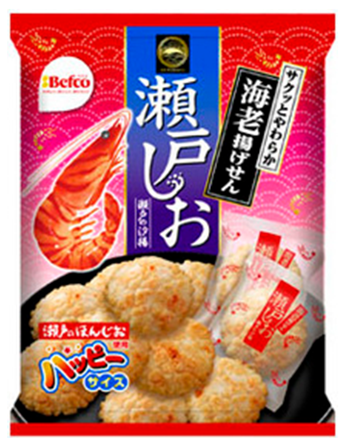 Kuriyama Setono Shioage Shrimp Cracker