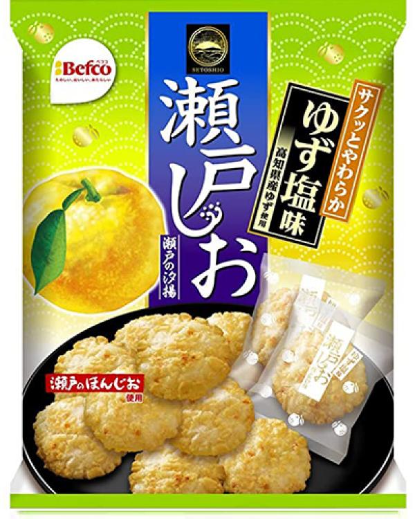 Kuriyama Setono Shioage Citrus Cracker