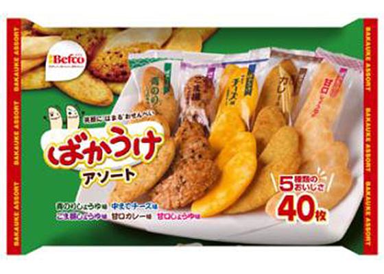 Kuriyama Bakauke Assorted Cracker 24P