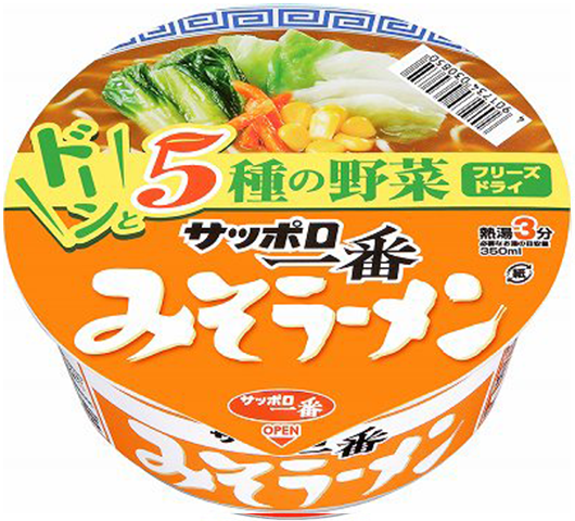 Sanyo Sapporo Ichiban Miso Ramen Donburi