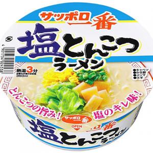 Sanyo Sapporo Ichiban Salt Tonkotsu Ramen