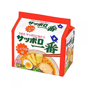 Sanyo Sapporo Ichiban Shoyu Ramen 5 Packets