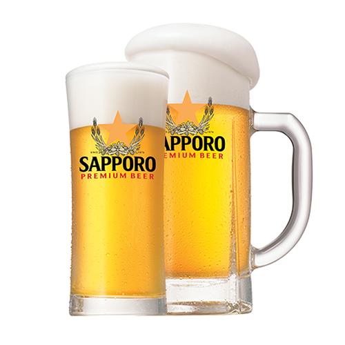 Sapporo Premium Draft Beer Keg 20 litres
