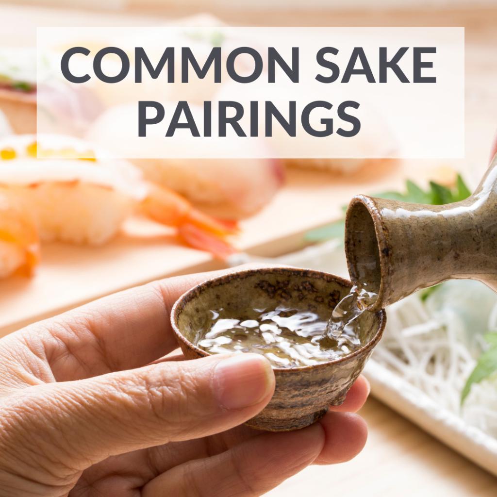 Makoto-Ya Singapore | Common sake food pairings