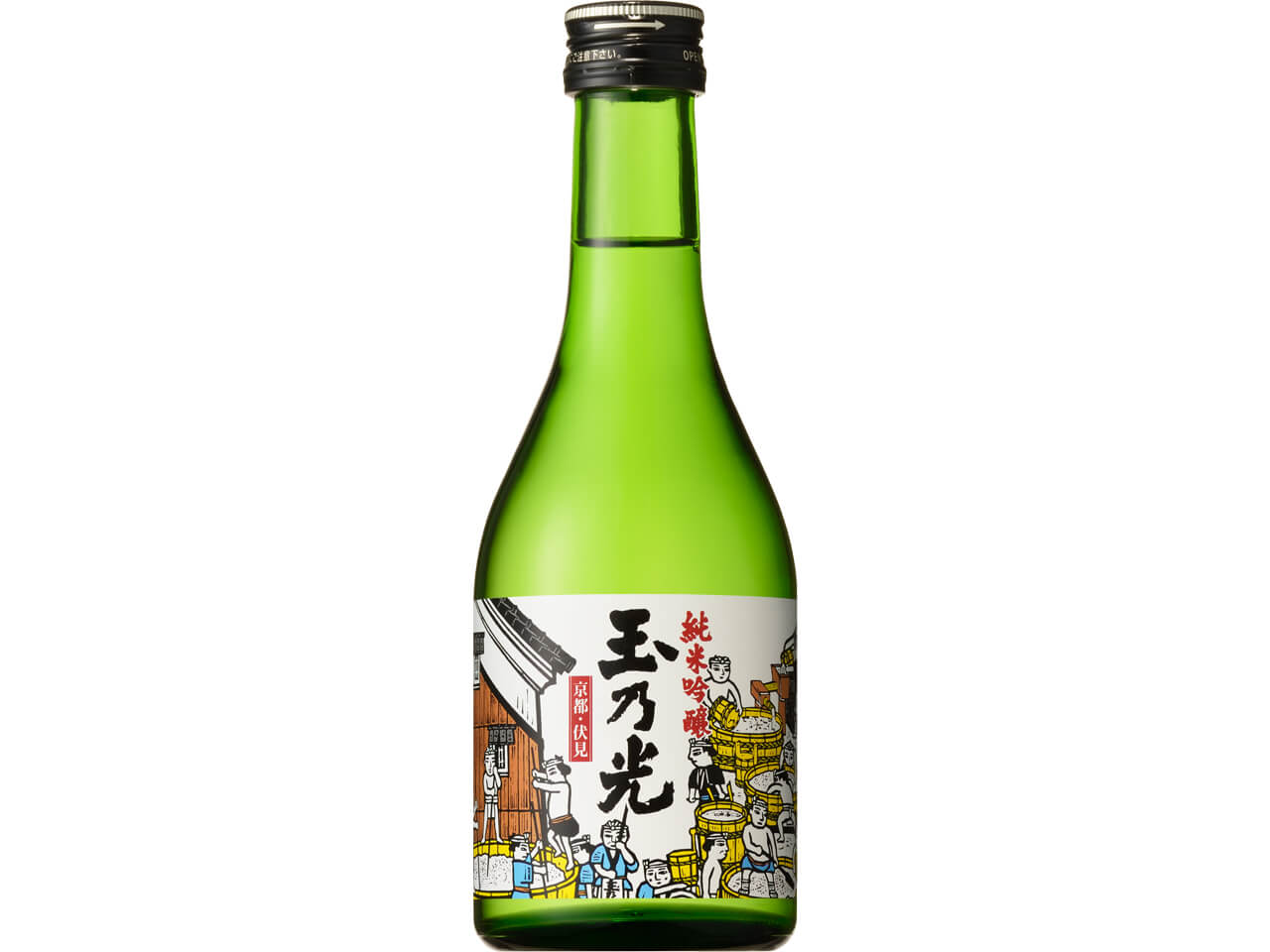 Tamano Hikari Reizo Shu Junmai Ginjo Sake