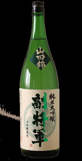 Fuku Shogun Junmai Daiginjyo Sake