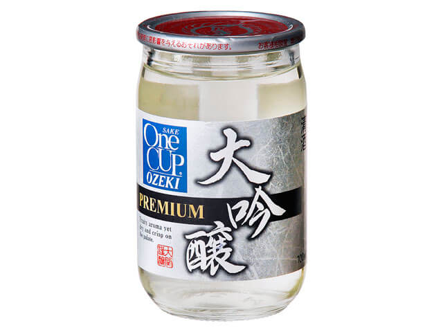 Ozeki One Cup Mini Daiginjyo Sake