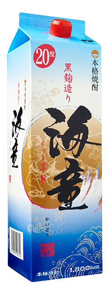 Hamada Kaidou Imo Shochu Paper Pack (20%)