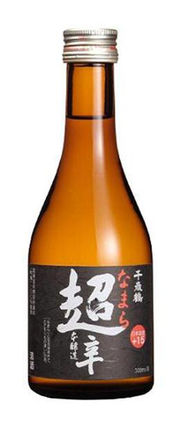 Chitosetsuru Namara Chokara Honjyozo Sake