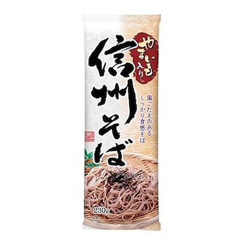 Shinsu Soba (Dried Buckwheat Noodles with Yam)