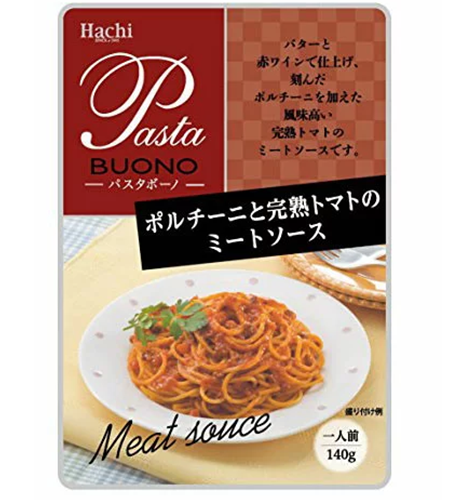 Hachi Mushroom Meat Sauce and Tomato Base Pasta Sauce