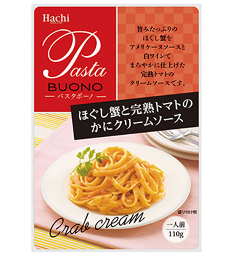 Hachi Kani (crab) and Tomato Cream Pasta Sauce
