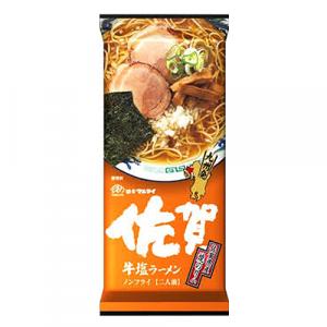 Marutai Saga Beef Salt (Gyutan) Packet Ramen