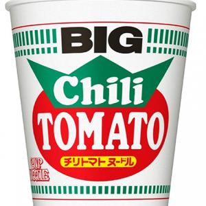 Nissin BIG Chili Tomato Cup Noodle