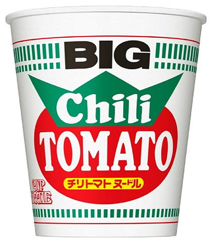 Nissin BIG Chili Tomato Cup Noodles