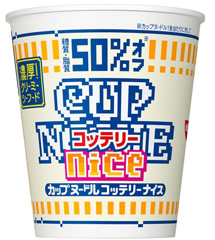 Nissin Creamy Seafood Cup Noodles