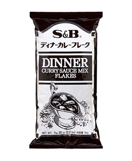 S&B Dinner Curry Sauce Mix Flakes