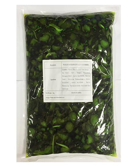 Isshin Kyuri Zuke (Pickled Cucumber)