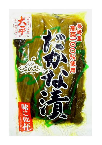 Ohira Takana Tsuke (Pickled Leaf Mustard)