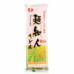 Maruei Menchijin Udon (Round Edge Noodles)