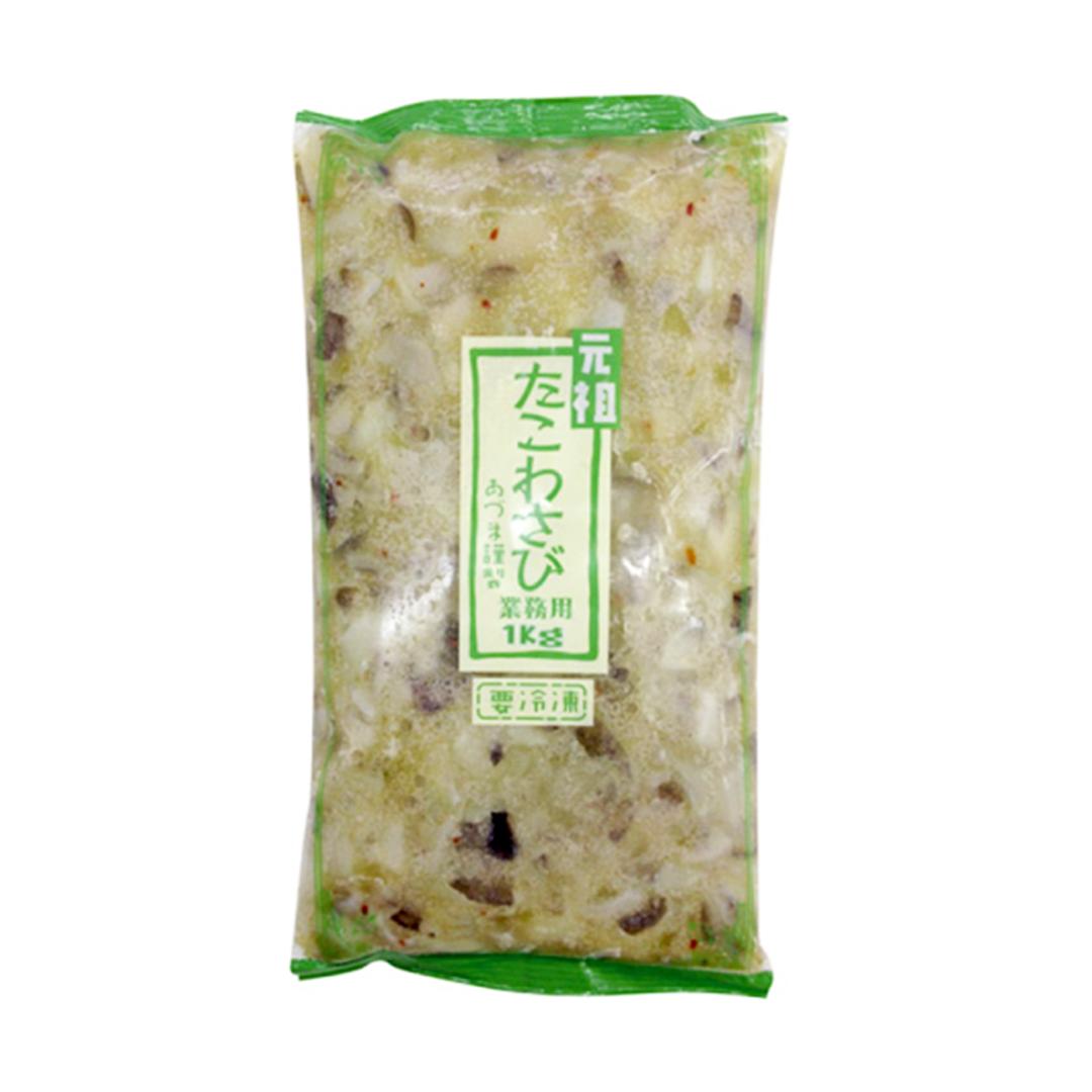 Azuma Tako Wasabi (Octopus with Wasabi)