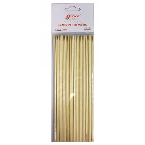 Grace Bamboo Meat Skewers 20cm